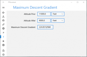 Maximum Descent Gradient